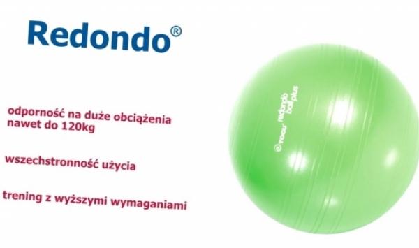 TB POLSKA - Trening mięśni głębokich na niestabilnym podłożu - REDONDO® BALL PLUS Togu