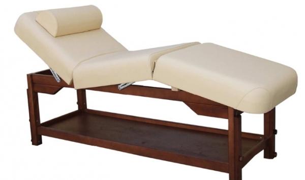 Leżanka 3-częściowa wykonana z drewna bukowego - ROMA-3O
