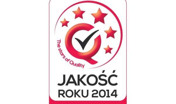 INMED KARCZEWSCY - JAKOŚĆ ROKU 2014 – NOMINACJA