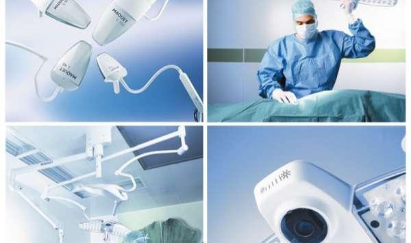Lampa zabiegowa/operacyjna diodowa LUCEA