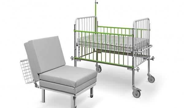 METALOWIEC -  Nowość ! Łóżko-fotel dla matek (Bożenka)