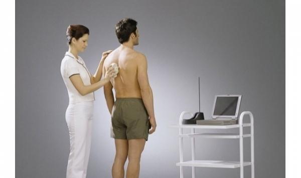 Medi Mouse® Urzadzenie do diagnostyki krzywizn kręgosłupa